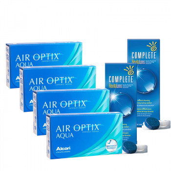 Air Optix AQUA Avantajlı Set