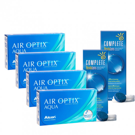 Air Optix AQUA Avantajlı Set